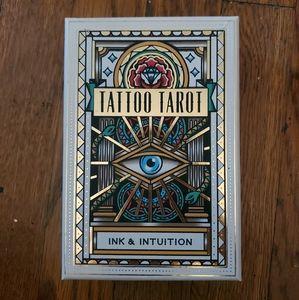 Tattoo Tarot Gently Used Like New Tarot Deck Magic